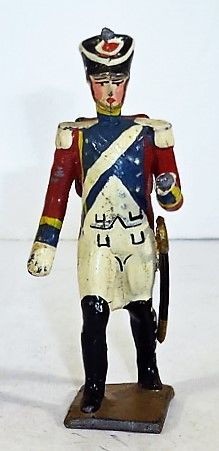 MINOT, 1, 1/32, FRENCH OFFICER (UNBOXED)