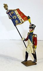 MINOT, 2, 1/32, FRENCH FLAG BEARER (UNBOXED)