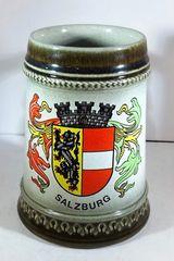 GERMAN BEER MUG, 1/2 LT., SALZBURG GERMANY