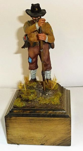 QUARTERMASTER CORP., 100MM, CONFEDERAT SGT. BY CARL HOEGERMEYER, 1981