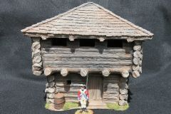 QUARTERMASTER BLOCK HOUSE (ONLY), 1/32 & 1/30, (UNBOXED)