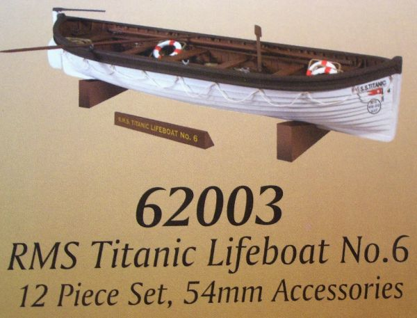 WBritains 62003, 1/30, RMS Titanic Lifeboat No 6, (Boxed)