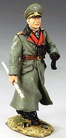 KING AND COUNTRY, WS126, 1/30, ROMMEL IN FRANCE (BOXED)