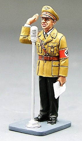 KING AND COUNTRY, LAH057, 1/30, JOSEPH GOEBELS (BOXED)