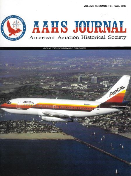AAHS JOURNAL, AMERICAN AVIATION HISTORICAL SOCIETY, VOL. 45, NO. 3