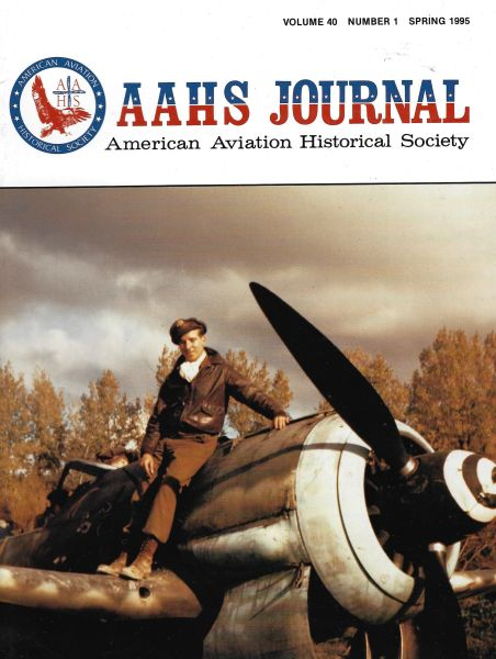 AAHS JOURNAL, AMERICAN AVIATION HISTORICAL SOCIETY, VOL. 40, NO. 1
