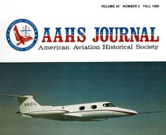 AAHS JOURNAL, AMERICAN AVIATION HISTORICAL SOCIETY, VOL. 34, NO. 3