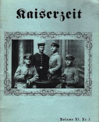 KAISERZEIT, VOL XI, NO 3
