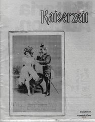 KAISERZEIT, VOL XI, NO 1