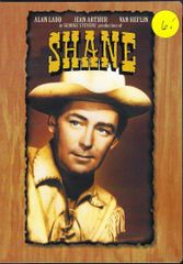 DVD, SHANE, WITH ALAN LADD
