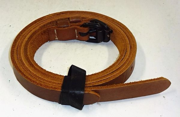 "LEATHER BELT, 1, 5/8"" WIDE X33"" LG. (2 AVAILABLE)"