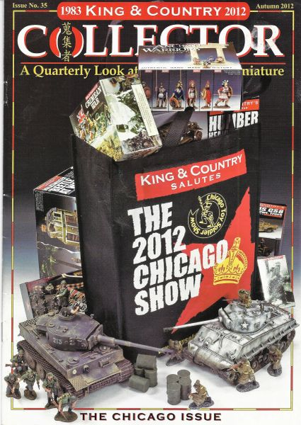 King and Country Collector Magazine, #35, 2012