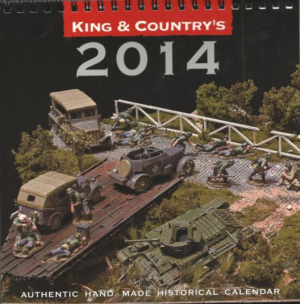 King and Country Calendar, #2014