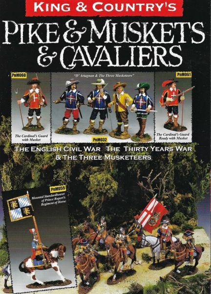 KING AND COUNTRY, BOOKLET, PIKE & MUSKET 1