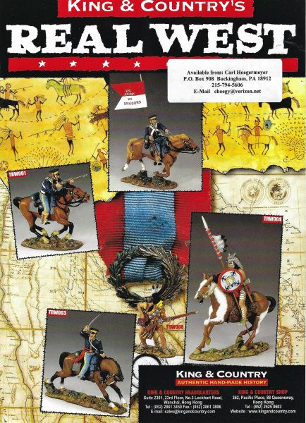 KING AND COUNTRY, FLYER, THE WEST 1