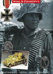 KING AND COUNTRY, BOOKLET, WEHRMACHT 3
