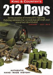 KING AND COUNTRY, BOOKLET, 212 DAYS 1