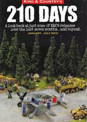 KING AND COUNTRY, BOOKLET, 210 DAYS