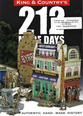 KING AND COUNTRY, BOOKLET, 212 DAYS 2