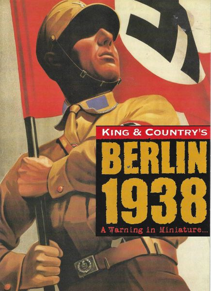 KING AND COUNTRY, BOOKLET, BERLIN 38, 2