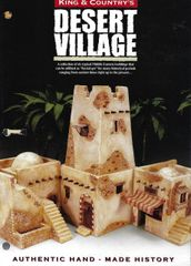KING AND COUNTRY, BOOKLET, DESERT VILLAGE 1