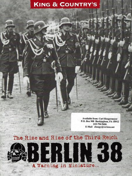 KING AND COUNTRY, BOOKLET, BERLIN 38, 1