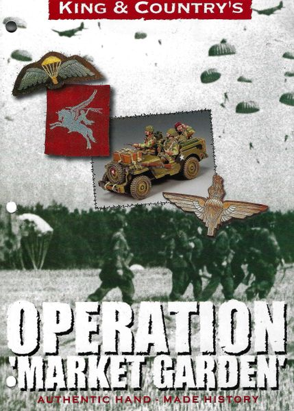 KING AND COUNTRY, BOOKLET, OPERATION MARKET GARDEN, 3