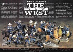 KING AND COUNTRY, FLYER, CIVIL WAR, THE WEST, 2