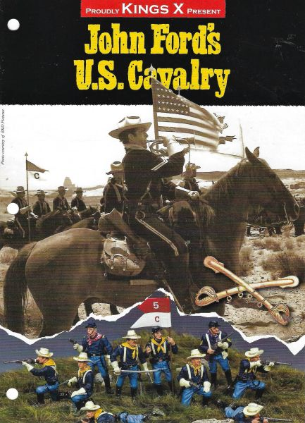 KING AND COUNTRY, FLYER, CIVIL WAR, THE WEST, 3