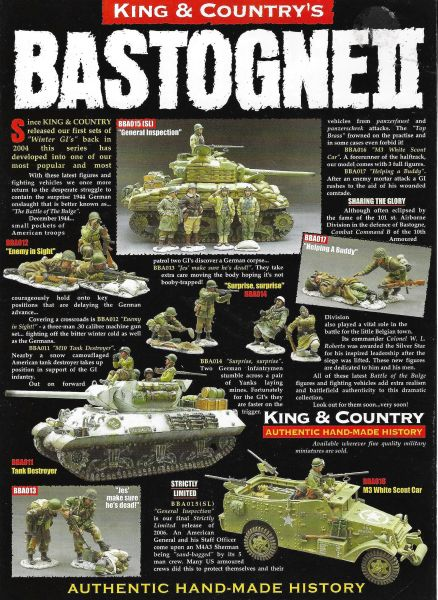 KING AND COUNTRY, FLYER, BASTOGNE, 1
