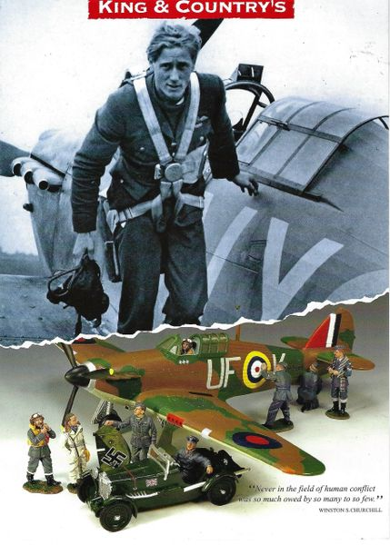 KING AND COUNTRY, FLYER, AIRFORCES, 1