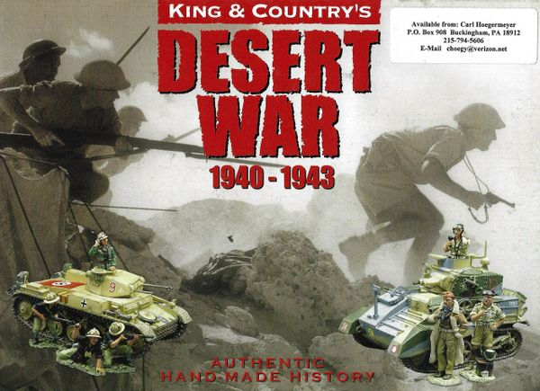 KING AND COUNTRY, BOOKLET, AFRICA. 2, DESERT WAR 1940-1943