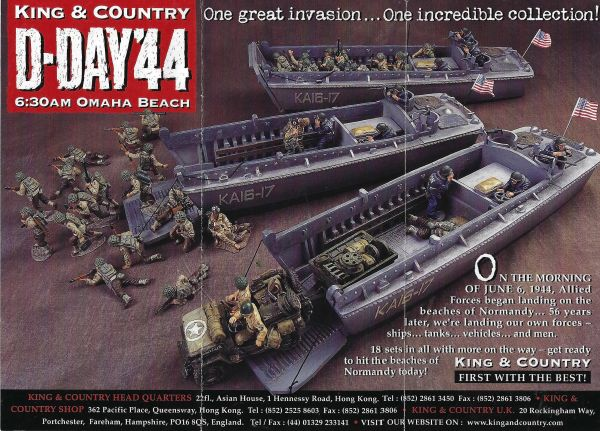 KING AND COUNTRY, BOOKLET, D-DAY 44