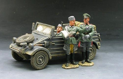 KING AND COUNTRY, FOB020, 1/30, GERMAN KUBEL WAGON, (BOXED)