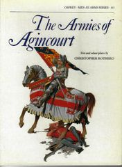 OSPREY, 1300's, #113, THE ARMIES OF AGINCOURT