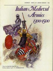 OSPREY, 1300's, #136, ITALIAN MEDIEVAL ARMIES 1300-1500