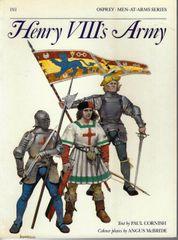 OSPREY, 1500's, #191, HENRY VIII'S ARMY