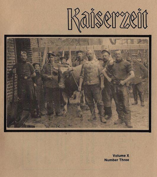 KAISERZEIT, VOL X, NO 3