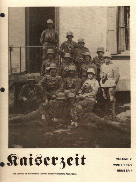 KAISERZEIT, VOL VI, NO 4