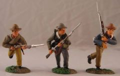 CONTE, ACW57098, 1/32, CONFEDERATE INFANTRY ADVANCING, (BOXED)