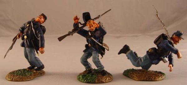 CONTE, ACW57108, 1/32, UNION INFANTRY WOUNDED SET, (BOXED)