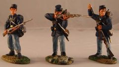 CONTE, ACW57107, 1/32, UNION INFANTRY FIRING, (BOXED)