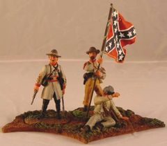 CONTE, ACW57121, 1/32, CONFEDERATE COMMAND SET, (BOXED)