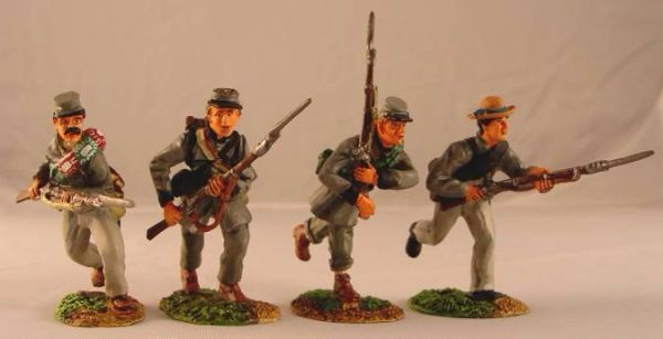 CONTE, ACW57150, 1/32, TEXAS BRIGADE CHARGING SET, (BOXED)
