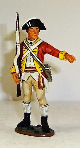 KING AND COUNTRY, 1/30, CONTINENTAL 2ND PENNSYLVANIA REG'T, SGT, AR018. (BOXED)