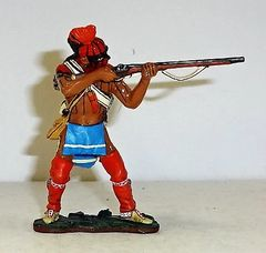 KING AND COUNTRY, 1/30, BR045, EAST COAST INDIAN FIRING RIFLE, (BOXED)