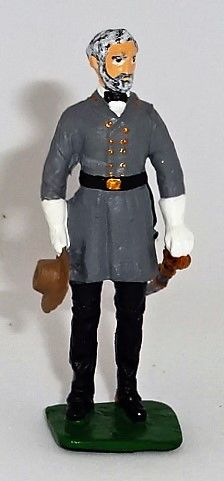 IMRIE RISLEY, IRREL1, 1/32, CONFEDERATE GENERAL ROBERT E. LEE, (UNBOXED)