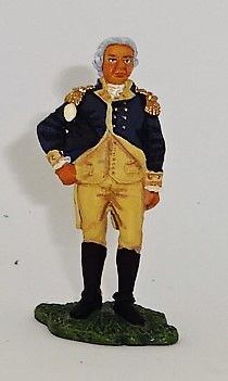 BRITAINS, 17346, 1/32, AMERICAN REVOLUTION GENERAL HORITIO GATES, (BOXED)