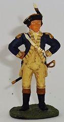 BRITAINS, 17276, 1/32, AMERICAN REVOLUTION DANIAL MORGAN, (BOXED)