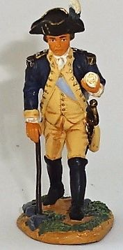 BRITAINS, 17346, 1/32, AMERICAN REVOLUTION GENERAL NATHANAEL GREEN, (BOXED)
